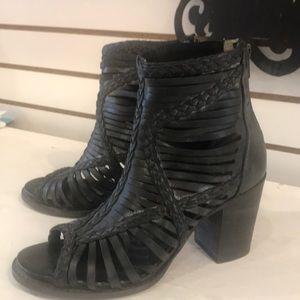 Freebird black booties